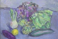 J, Bieruma-Oosting - Stilleven met fruit