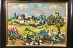 Jacques Boloré - Frans dorp in de lente