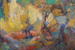 Lode Bosmans - Luministisch landschap bos