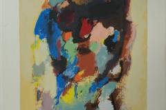 Eugene Brands - Zonder titel abstract 166/200