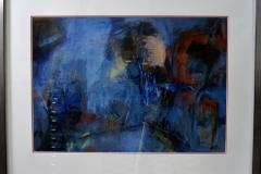 Elly van den Brink - Zonder titel abstract