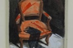 Fabio Calvetti - Oranje stoel