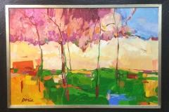 Frank Derie - Expressionistisch landschap