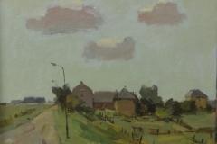 Will van Dinther - Boerderij aan dijk