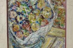 Eduard Jan Eckhardt Dulfer - Bloemenstalletje