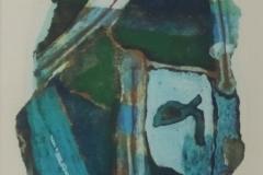 Jeroen Krabbé - zonder titel abstract