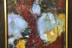 Marcel Kreuning - abstractie in rood