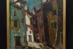 Gerard van Lerven - Straatje Parijs