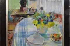 Jean Lombard -  Tafel met stilleven en terrine