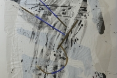 Lei Molin - Zonder titel abstract 1985