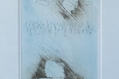 Jan Montijn - Zonder titel blauw 1982