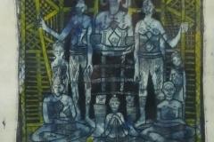 Bruce Onobrakpeya - Lagos 1971 Afrikaans