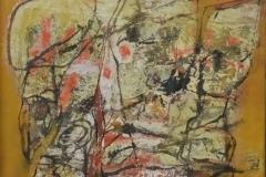 Fred Sieger van Zevenaar - Zonder titel abstract