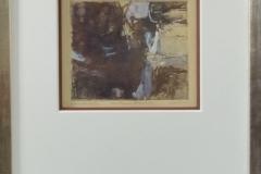 Leo van Sluis - Zonder titel abstract bruin