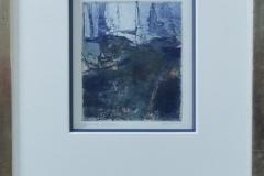 Leo van Sluis - Zonder titel abstract blauw