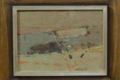 Gerrit de Weerd - Zonder titel abstract landschap