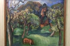 Matthieu Wiegman - Varken in boomgaard